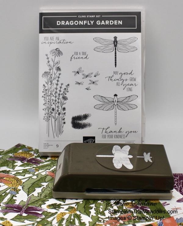 Stampin' Up! Dragonfly Garden - StampinInTheMeadows-00