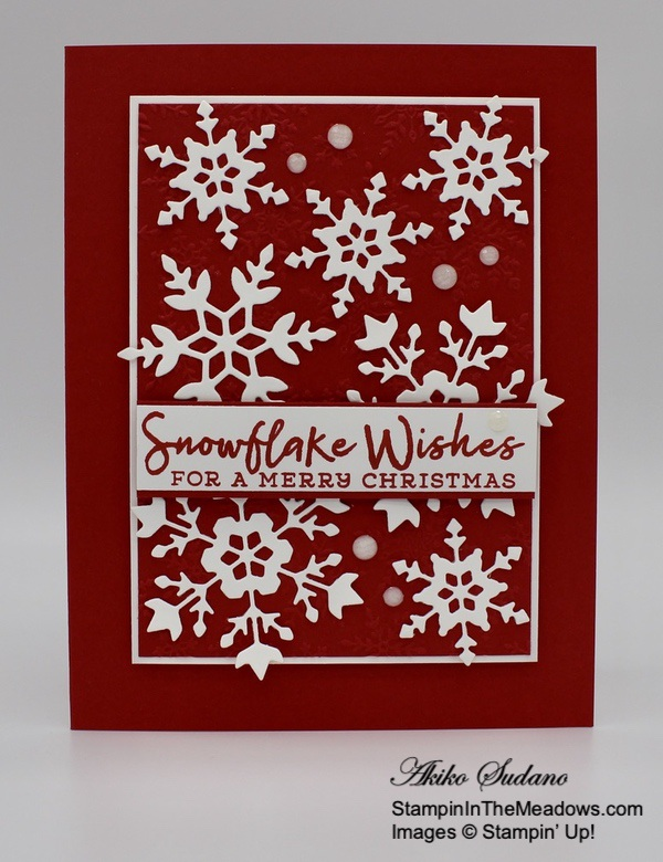 Stampin' Up! Snowflake Wishes - StampinInTheMeadows-02